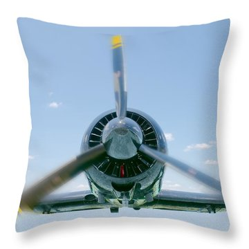 Flight In Color Throw Pillow
