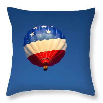 Flight Of The Patriot Throw Pillow by Mike  Dawson