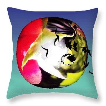 Flight Of The Ravens #art Throw Pillow