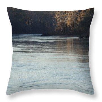 Flint River 31 Throw Pillow
