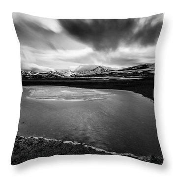 Fljotsdalshreppur Throw Pillow by Dave Bowman