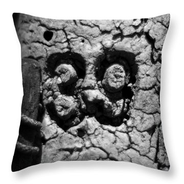 Throw Pillow featuring the photograph Float Number 39 - Black And White by Rebecca Sherman