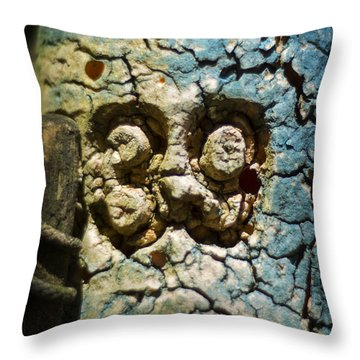 Throw Pillow featuring the photograph Float Number 39 by Rebecca Sherman