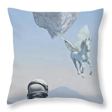 Pegasus Throw Pillows