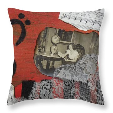 Floating Memories Throw Pillow