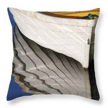 Floating On Blue 15 Throw Pillow