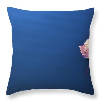 Floating On Throw Pillow by Michael White