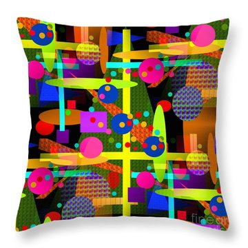 Floating Perspective - Series Throw Pillow by Glenn McCarthy Art and Photography