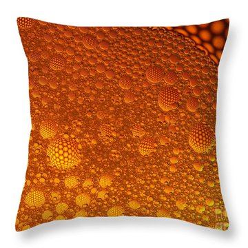 Throw Pillow featuring the photograph Floating by Trena Mara