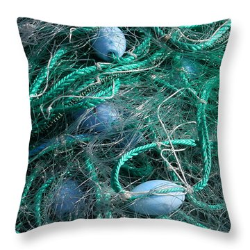 Floats Throw Pillow