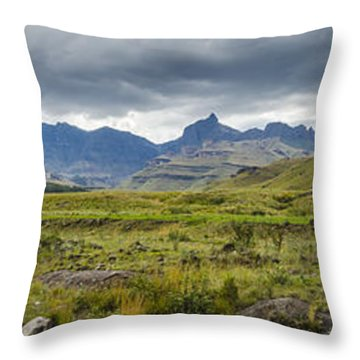 Flooding Light Throw Pillow by Roald Nel