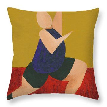 Floor Dancer 6 Throw Pillow