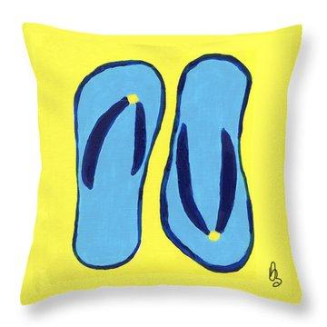 Flopped Throw Pillow