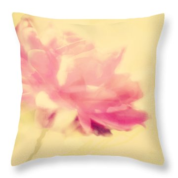 Floral Concept Throw Pillow by Linde Townsend
