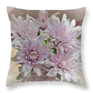 Floral Dream Throw Pillow by Michelle Meenawong