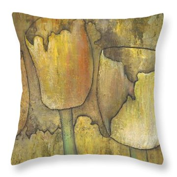 'floral Fruition' Throw Pillow