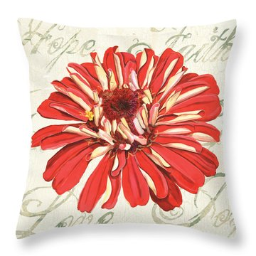 Floral Inspiration 1 Throw Pillow