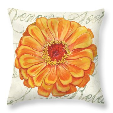 Floral Inspiration 2 Throw Pillow
