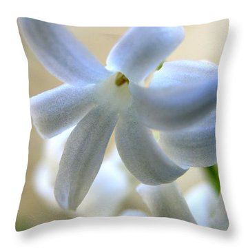 Floral Peace No.2 Throw Pillow