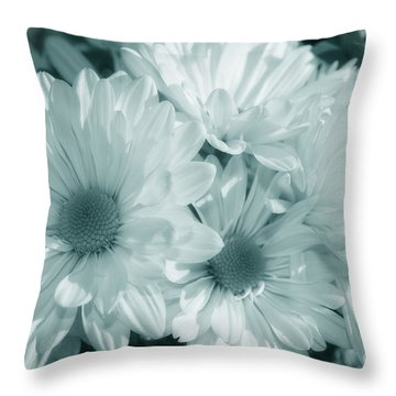 Floral Serendipity Throw Pillow by Cathy  Beharriell