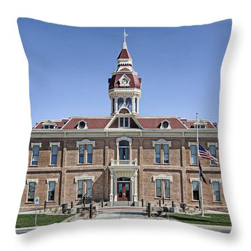 Florence City Hall Throw Pillow