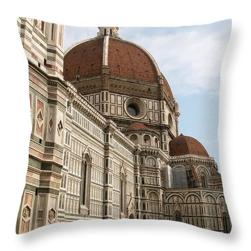 Florence Throw Pillow by Evgeny Pisarev