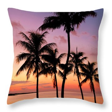 Florida Breeze Throw Pillow