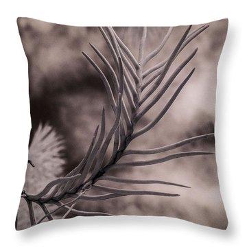 Florida Flora 1 Throw Pillow