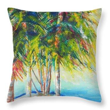 Florida Inspiration  Throw Pillow