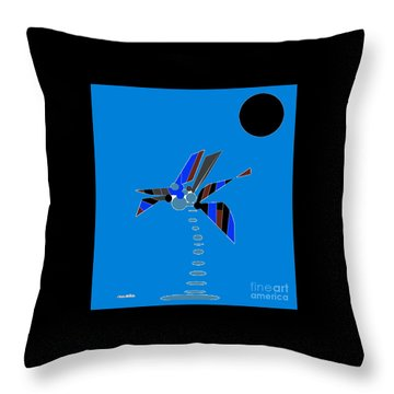 Florida Palm 2 Throw Pillow