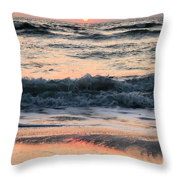 Florida Pastels Throw Pillow by Adam Jewell