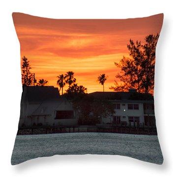Florida Sky Throw Pillow