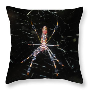 Insect Me Closely Throw Pillow