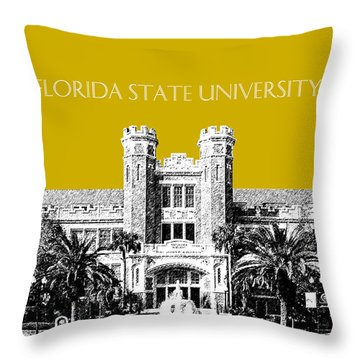 Florida State University - Gold Throw Pillow