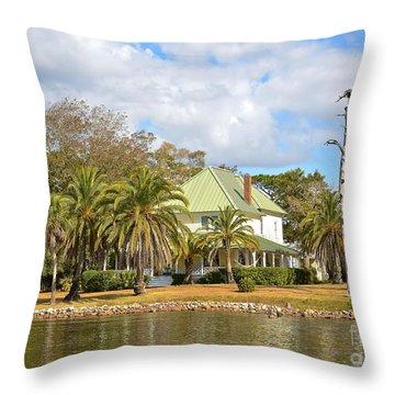 Florida Style Throw Pillow