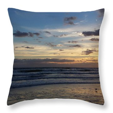 Throw Pillow featuring the photograph Florida Sunrise by Ally  White