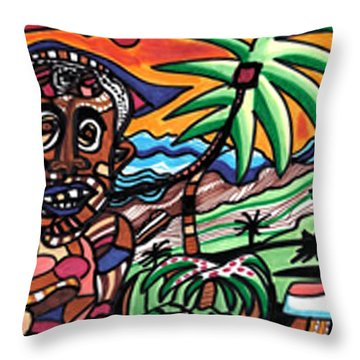Florida Vacation Throw Pillow by Don Koester