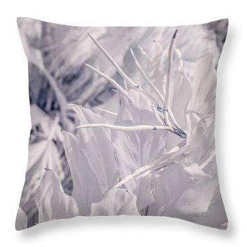 Florida Whites Throw Pillow