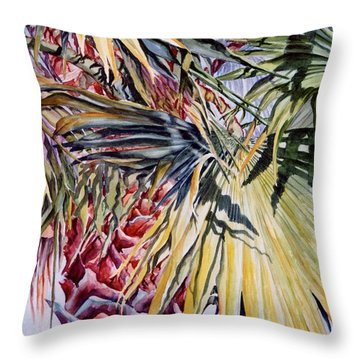Florida's Pride Throw Pillow by Roxanne Tobaison