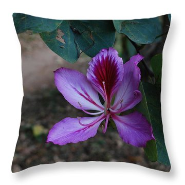 Florin Throw Pillow