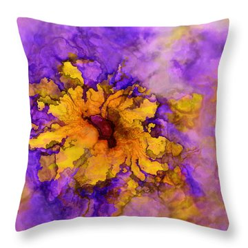 Floro - 50b Throw Pillow by Variance Collections