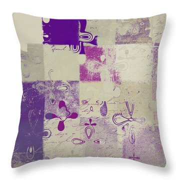 Florus Pokus 02d Throw Pillow by Variance Collections