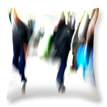 Throw Pillow featuring the photograph Flow  by Danica Radman