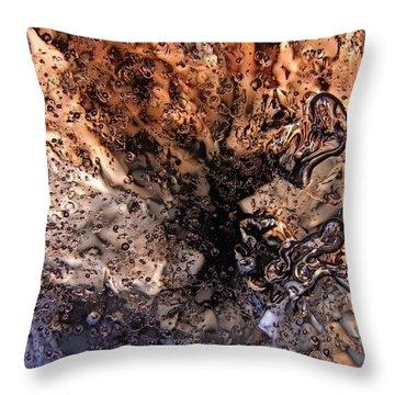 Flow Of Life Throw Pillow
