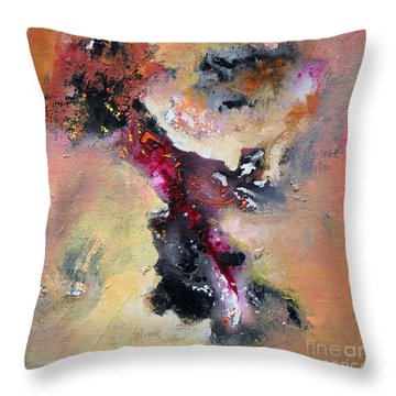 Flow Sold Out Throw Pillow