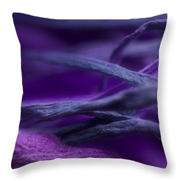 Throw Pillow featuring the photograph Flow by WB Johnston