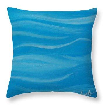 Flow2 Throw Pillow