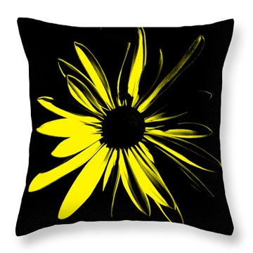 Throw Pillow featuring the digital art Flower 8 by Maggy Marsh