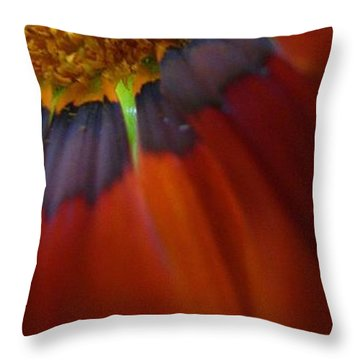 Throw Pillow featuring the photograph Flower by Andy Prendy