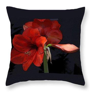 Flower Art02 Throw Pillow